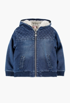 Denim jacket knit for boy_1