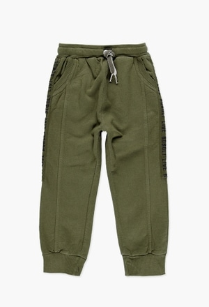 Fleece trousers for boy_1