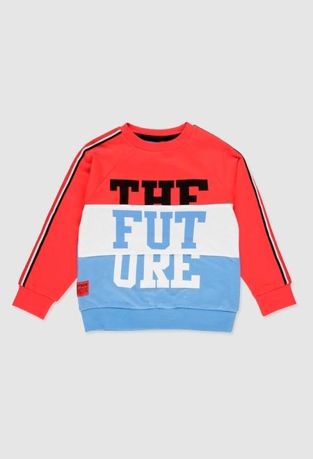 Sweatshirt plüsch für junge_1
