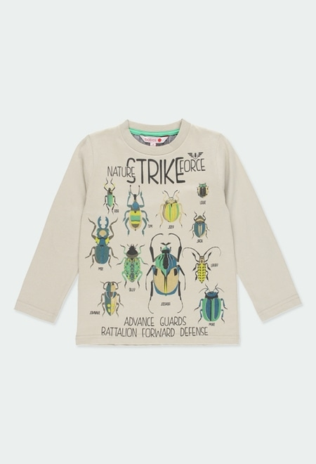 """Camiseta punto """"insectos"""" de niño_1"""