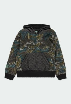 Sweatshirt felpa camuflagem para menino_1