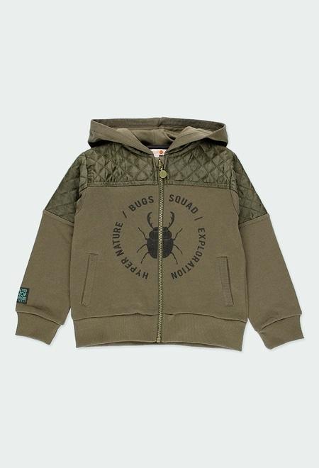 Fleece jacket combined for boy_1