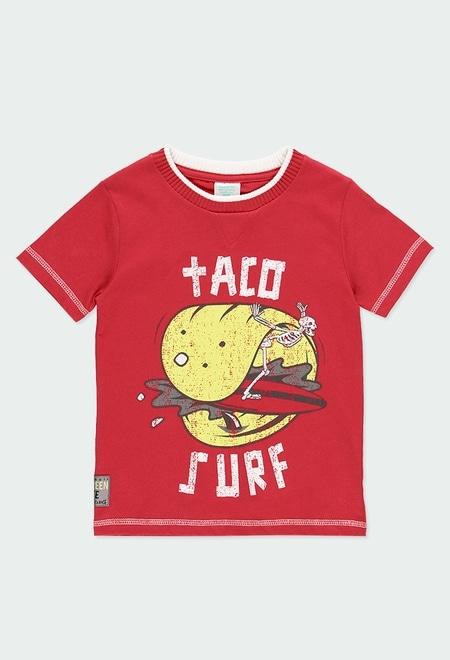 """T-Shirt gestrickt """"surfing"""" für junge_1"""