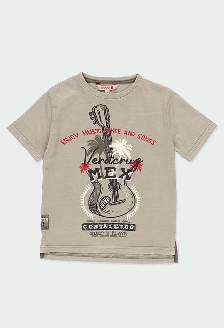 Knit t-Shirt for boy_1