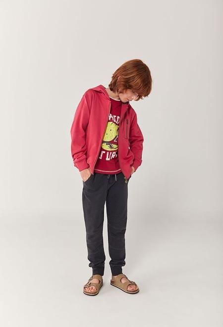 Fleece jacket hooded for boy_1