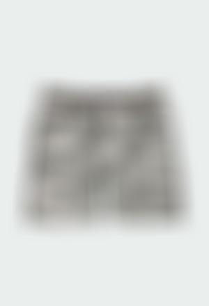 Bermuda felpa camuflaje de niño