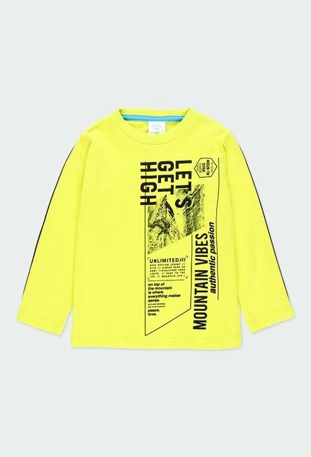 "Camiseta punto ""mountain"" de niño_1"
