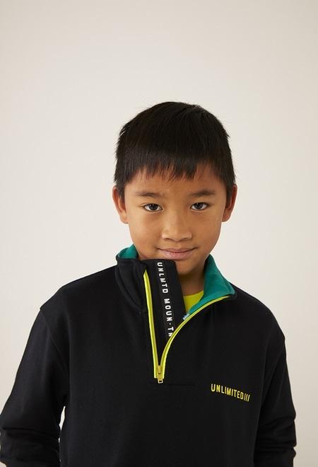 Sweatshirt felpa com bolso para menino_1