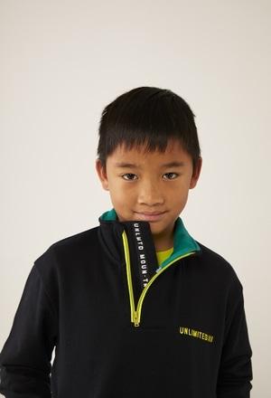 Fleece with pockets sweatshirt for boy_1