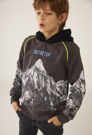 Fleece sweatshirt for boy_1