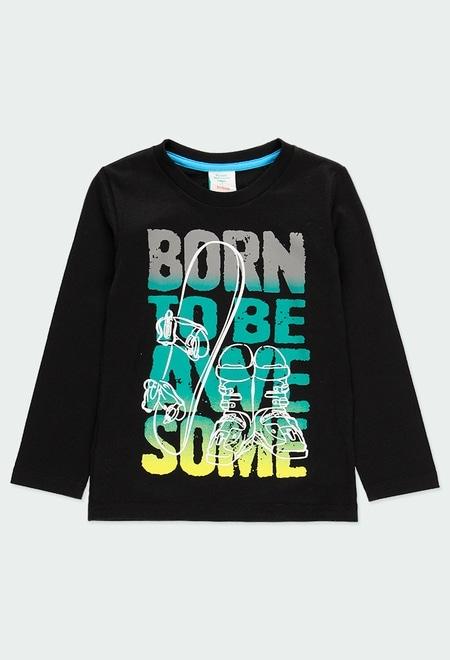 """Camiseta punto """"snow"""" de niño_1"""