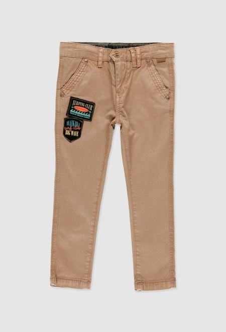 Pantalón gabardina elástica de niño_1