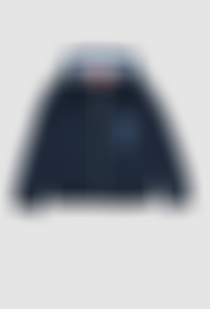 Chaqueta felpa con capucha de niño