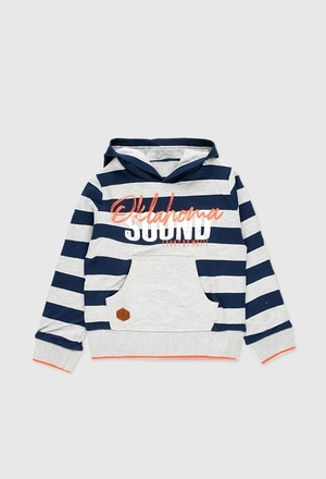 Fleece hooded sweatshirt for boy_1