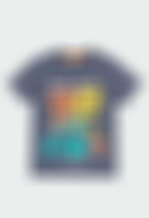 Camiseta malha manga curta para menino