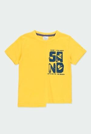 "Knit t-Shirt ""surf team"" for boy_1"