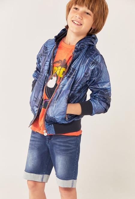 """Camiseta punto """"pajaro"""" de niño_1"""