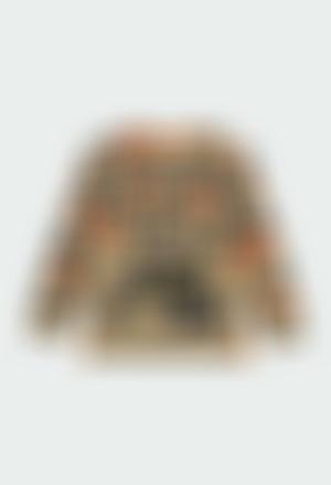 T-Shirt tricot imprimée pour garçon