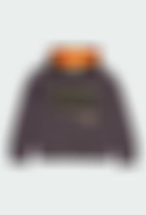 Sudadera felpa con capucha de niño