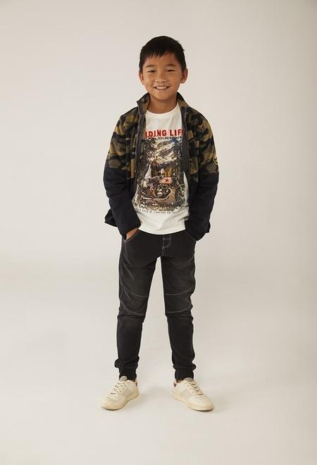 """Camiseta malha """"motorcycle"""" para menino_1"""
