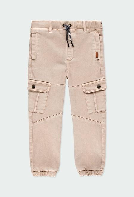 Pantalon en toile maille pour garçon_1