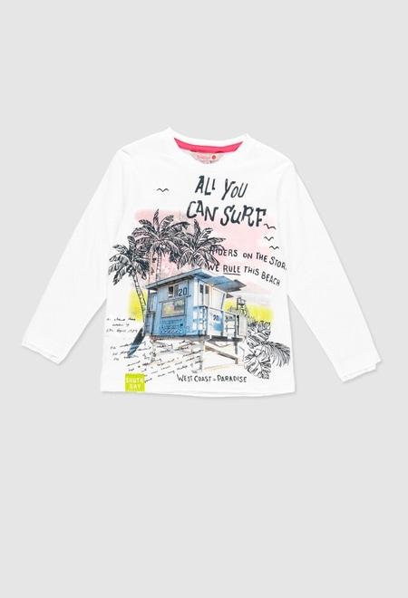 T-Shirt gestrickt für junge_1