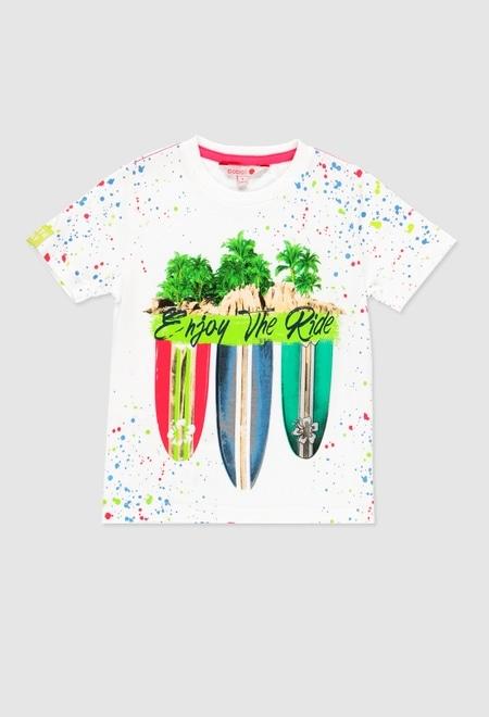 Camiseta punto de niño_1