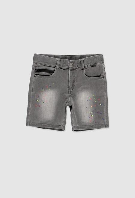 Bermuda en jean pour garçon_1