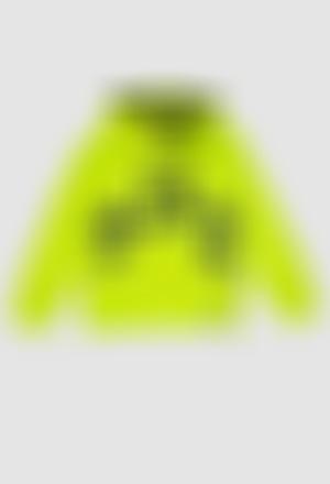 Sudadera felpa con capucha de niña