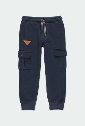 Pantalón felpa de niño_1