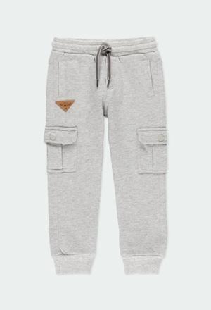 Pantaloni felpati per ragazzo_1