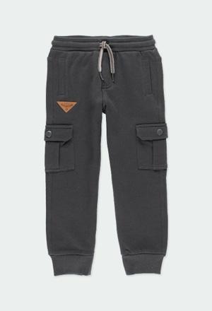 Fleece trousers for boy_1