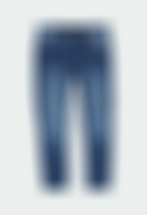 Pantalón denim elástico de niño