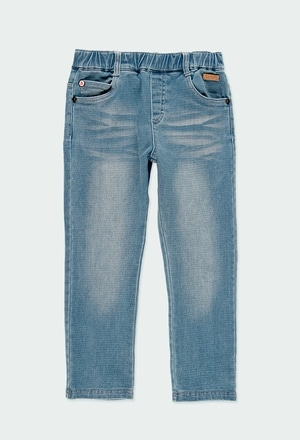 Pantaloni jeans elasticizzati per ragazzo_1