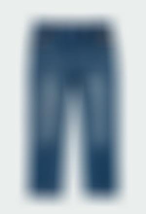 Stretch denim trousers for boy