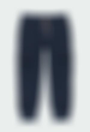 Pantalón felpa de niño
