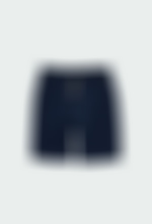 Knit bermuda shorts flame for boy