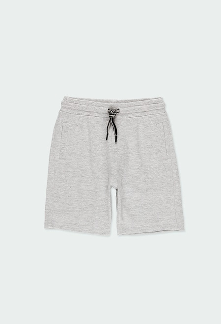Bermuda tricot flame pour garçon_1