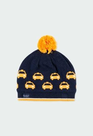 Knitwear hat cars for boy_1