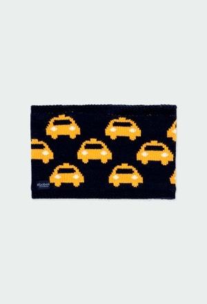 Cuello tricotosa coches de niño_1