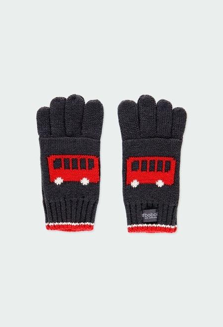Guantes tricotosa autobuses de niño_1