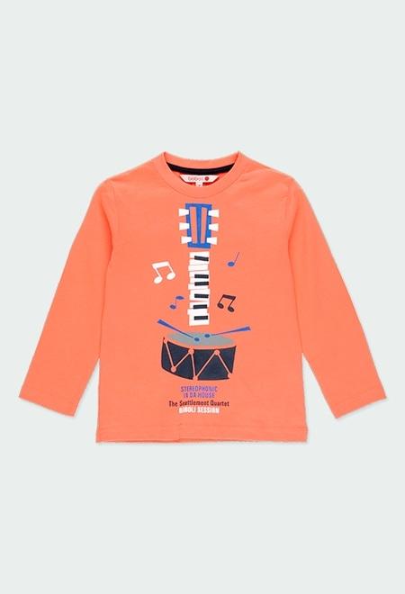 Camiseta malha estampado para menino_1