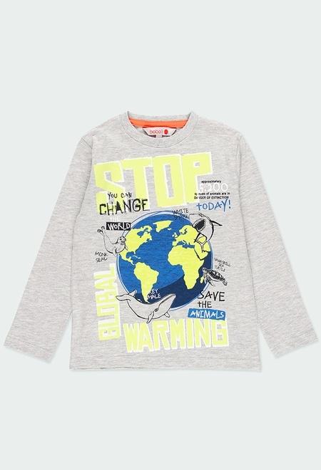 Camiseta manga larga de niño_1