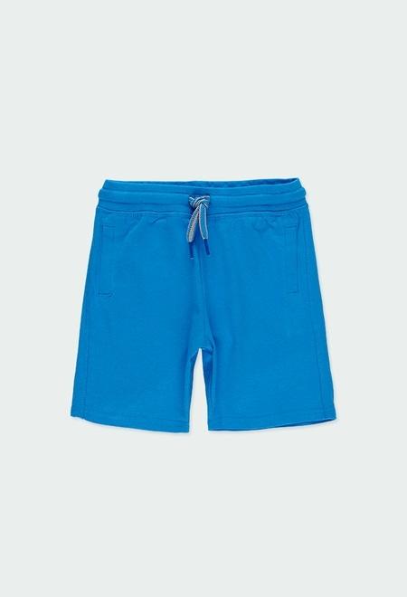 Knit bermuda shorts for boy_1