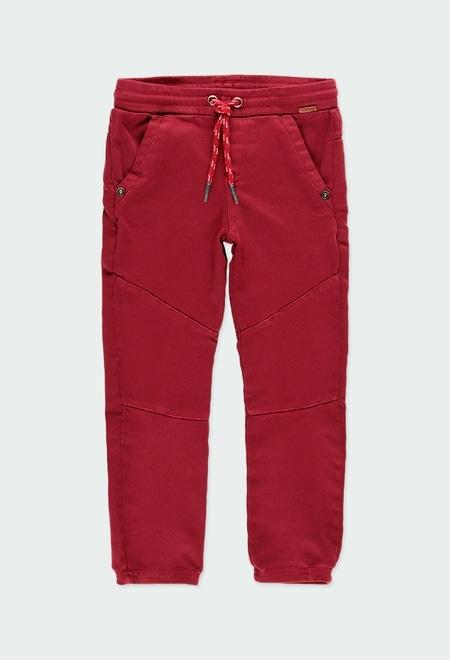 Pantalon en toile stretch maille pour garçon_1