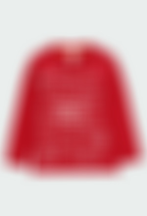 Maglietta jersey basic stampato Einstein per ragazzo