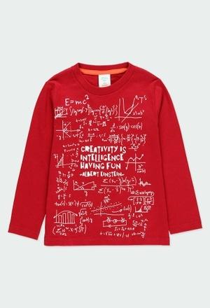 Knit t-Shirt basic printed for boy_1