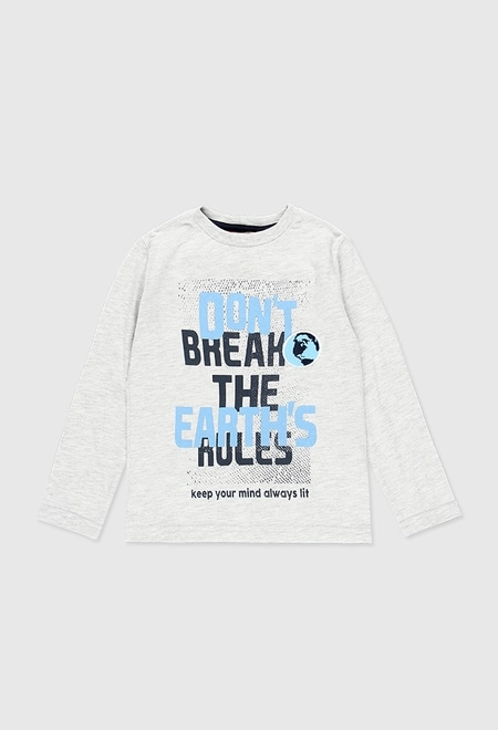 Knit long sleeves t-Shirt for boy_1