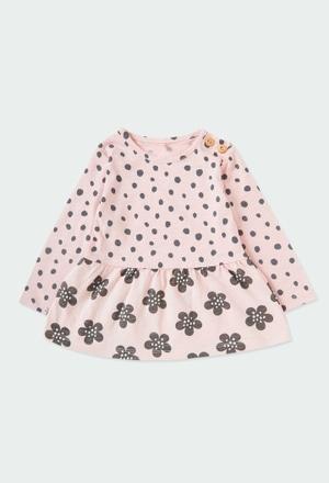 Robe flame pour bébé fille ORGANIC_1