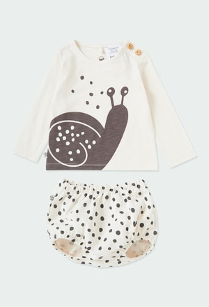 "Pack punto ""caracol"" de bebé ORGANIC_1"